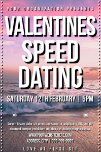 Template speed dating valentines