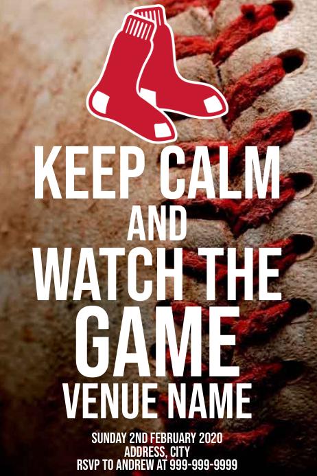 Template sports baseball Boston Red Sox