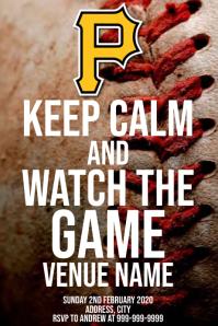 Template sports baseball Pittsburgh Pirates