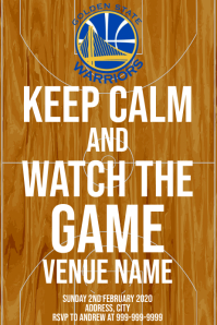 Template sports basketball golden state warri