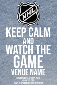 Template sports hockey NHL