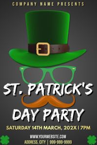 Template st patrick's party