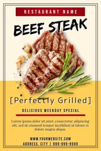 Template steak