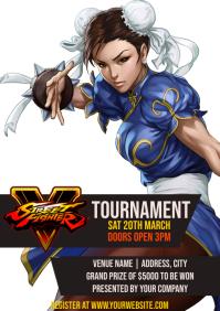 Template street fighter tournament