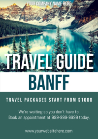 Template travel canada banff