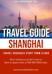 Template travel china shanghai