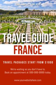 Template travel france Iphosta