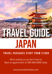 Template travel japan