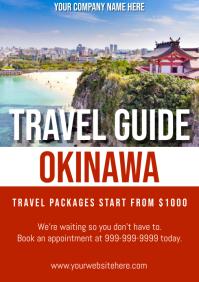Template travel japan okinawa