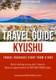 Template travel japan kyushu