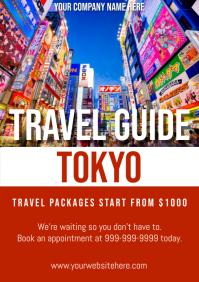Template travel japan tokyo