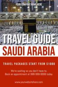 Template travel saudi arabia