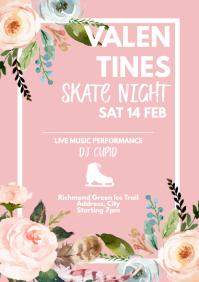Template Valentine's skating