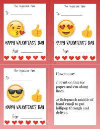 Template valentines day candy gram