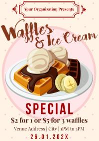 Template waffles A4