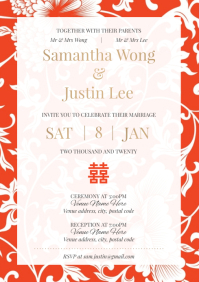 Template wedding chinese