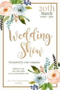 Template wedding show