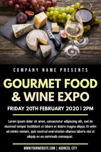 Template wine & cheese show