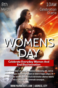 Template women's day