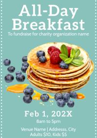 Templates pancake breakfast