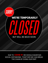 temporarily closed, covid-19