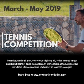 Tennis event video