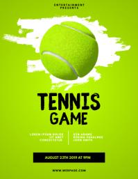 170 Tennis Flyer Customizable Design Templates Postermywall