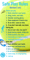 Tennis rules safe play