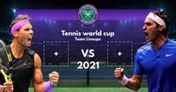 Tennis Team Lineups Board 2021 Template Facebook Shared Image