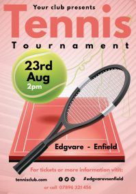 Tennis Tournament Poster
