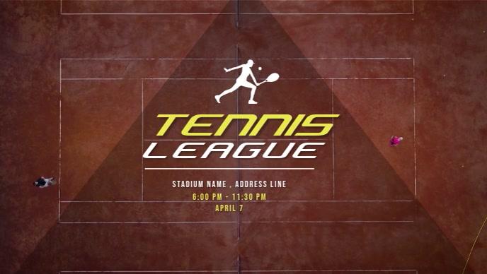 Tennis Tournament Video Ad