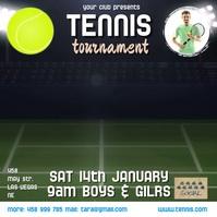 tennis tournament video