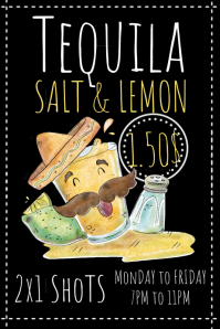 Tequila Flyer Template