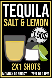 Tequila Promo Poster Template