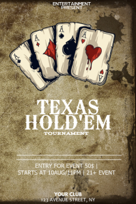 160+ Poker Customizable Design Templates | PosterMyWall