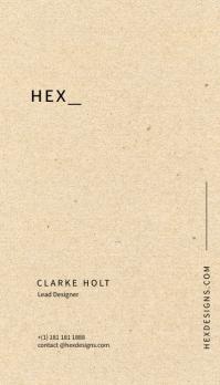 Textured Business Card Template