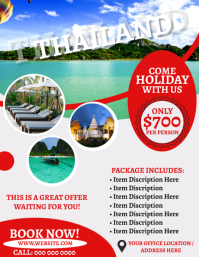 Thailand Travel Agency Flyer Template