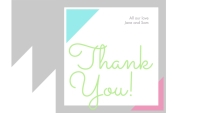 Thank you! Business Card template
