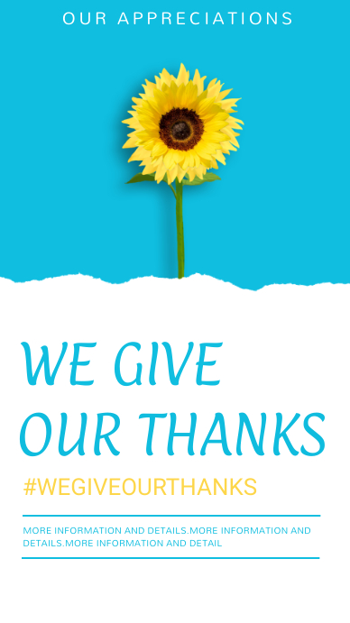 Thank you,thanks giving,event Historia de Instagram template