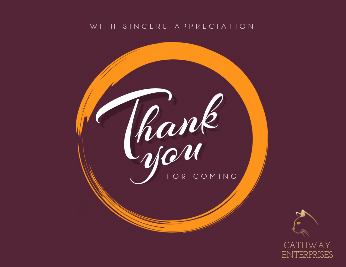 Thank You Business Postcard Template Postermywall