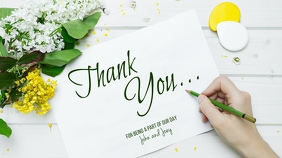 Thank You Card Digital Display (16:9) template