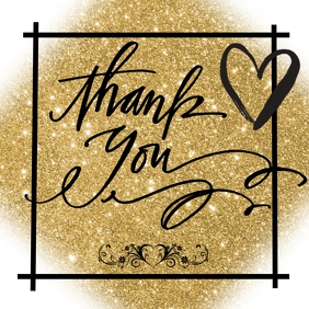 THANK YOU CARD Logo template