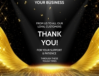 THANK YOU Flyer (US Letter) template