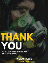 Thank you doctor nurses and first responders