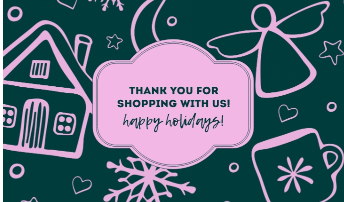 Thank You for Shopping With Us Ithegi template