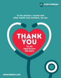 Thank You Healthcare Workers Flyer