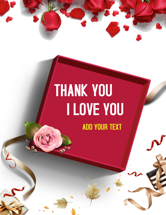 Thank you I love you best wishes