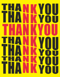 Thank You Jesus Poster Template
