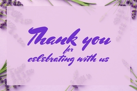 460 Customizable Design Templates For Thank You Postermywall