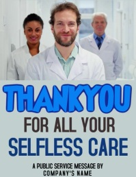 Thank you Medical Health flyer Template